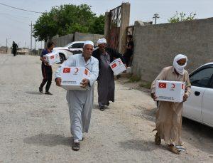 Türk Kızılay ramazanda Irak'ta ihtiyaç sahibi 4 bin 500 aileye gıda yardımı yapacak