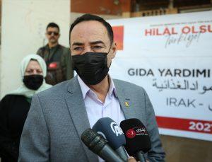 Türk Kızılaydan Musul halkına ramazanda gıda yardımı