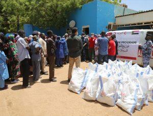 Türk Kızılay'dan Sudan'da 150 aileye gıda yardımı