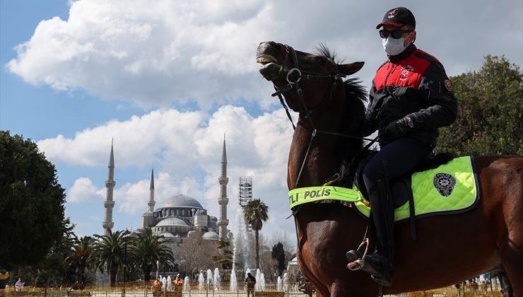 Türk Polis Teşkilatının kuruluşunun 176. yıl dönümü Ayasofya Meydanı'nda kutlandı