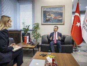 Türkiye Cumhuriyet Merkez Bankası Başkanı Şahap Kavcıoğlu, 128 milyar dolar tutarındaki rezervin akıbetine ilişkin iddialara yanıt verdi.