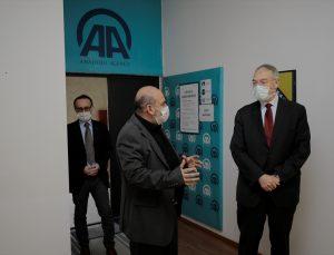 Türkiye'nin Saraybosna Büyükelçisi Girgin, AA'nın ofisini ziyaret etti
