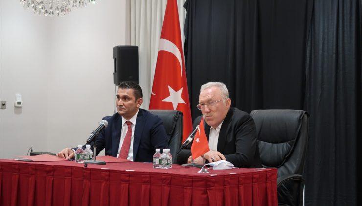 Türkiye'nin Washington Büyükelçisi Mercan New York'ta Türk toplumu temsilcileri ile buluştu:
