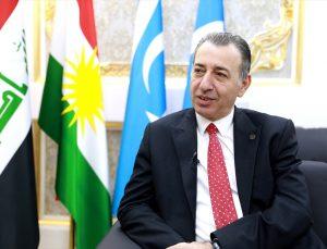 Türkmen Bakan Maruf ITC'deki görev değişiminin Irak seçimlerinde Türkmenleri olumlu etkileyeceğini söyledi: