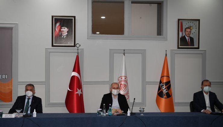 Ulaştırma ve Altyapı Bakanı Adil Karaismailoğlu, Karayolları 71. Bölge Müdürleri Toplantısı'nda konuştu: (2)
