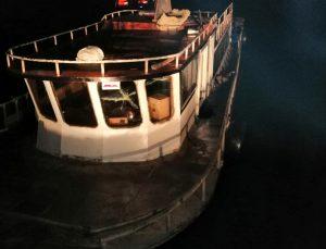 Van Gölü'nde bir teknede 20 sığınmacı yakalandı