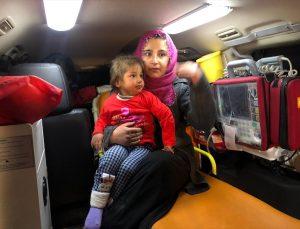 Van'da kaybolan 3 yaşındaki çocuğu AFAD ve jandarma ekipleri buldu