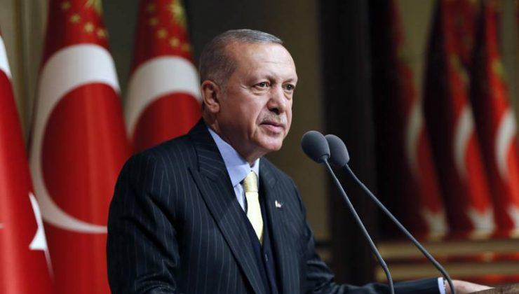 """Erdoğan: """"Kudüs'ün onurunu, şerefini, izzetini, haysiyetini korumak her bir Müslüman'ın boynunun borcudur"""""""