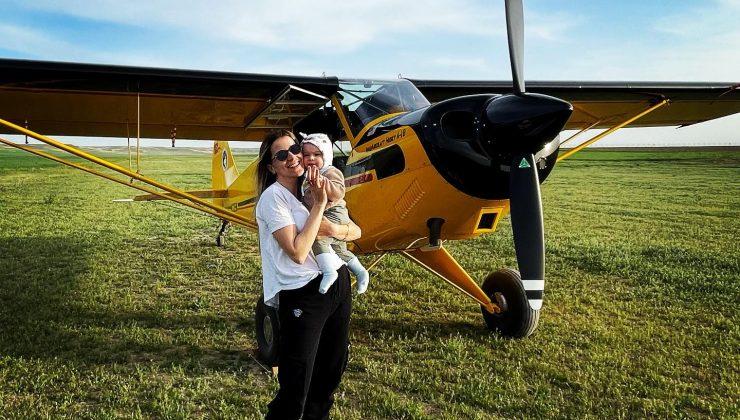 Türk kadınının göklerdeki temsilcisi anne olduktan sonra daha temkinli uçuyor