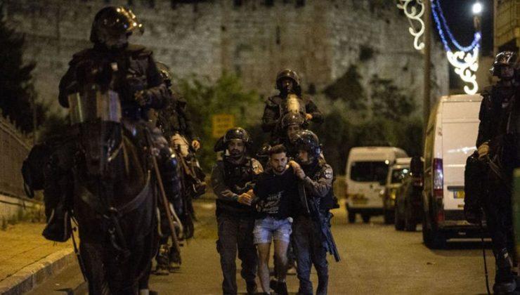 İsrail polisinin Doğu Kudüs'te Filistinlilere yönelik saldırılarında yaralı sayısı 205'e yükseldi