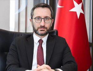 Cumhurbaşkanlığı İletişim Başkanı Altun, İdlib'te şehit olan asker için başsağlığı diledi