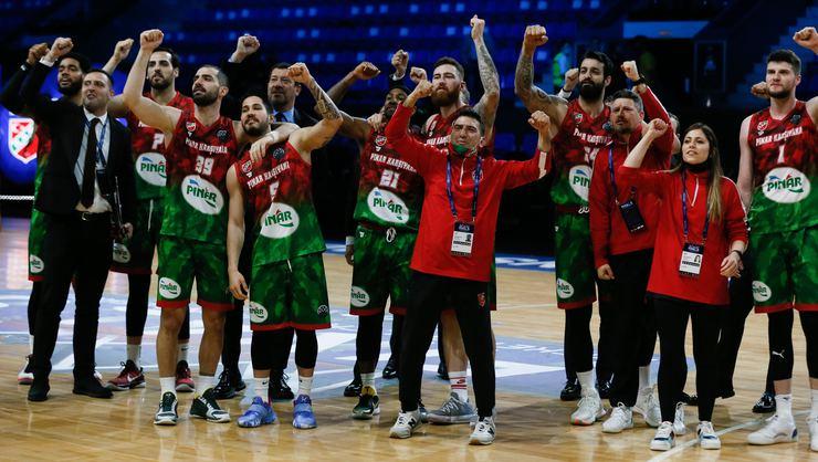 Pınar Karşıyaka, FIBA Şampiyonlar Ligi yarı finalinde yarın Casademont Zaragoza ile karşılaşacak