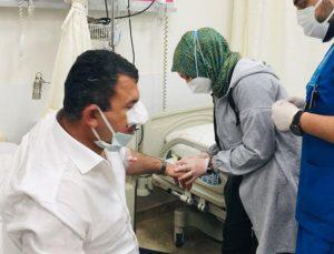 MHP milletvekilleri Hasan Kalyoncu ve Yaşar Karadağ, trafik kazasında yaralandı
