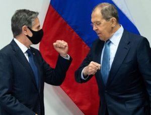 Rusya Dışişleri Bakanı Lavrov ile ABD Dışişleri Bakanı Blinken ilk kez bir araya geldi