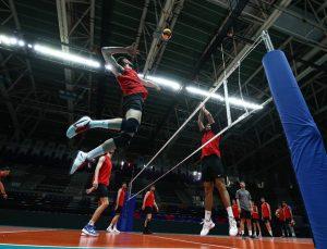 A Milli Erkek Voleybol Takımı, CEV Avrupa Altın Ligi hazırlıklarını Ankara'da sürdürüyor