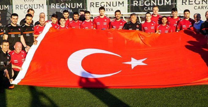 A Milli Futbol Takımı, EURO 2020 hazırlıklarına başladı