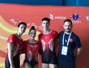 Aerobik Cimnastik Dünya Şampiyonası'nda milli sporcular 2 final hakkı kazandı