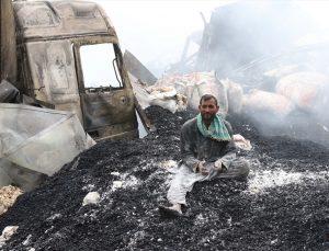 Afganistan'da petrol istasyonunda çıkan yangında 10 kişi öldü