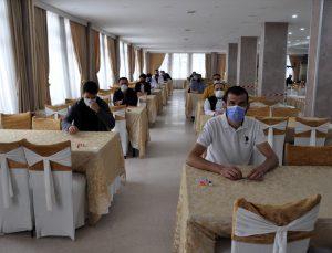 Afyonkarahisar'da Cep Telefonu Tamir Bakım ve Onarımı Mesleki Yeterlilik Sınavı yapıldı