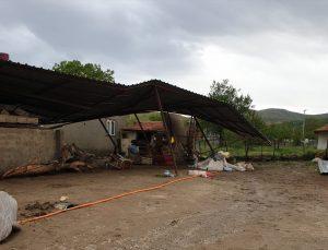 Ankara'da fırtına hayatı olumsuz etkiledi