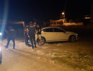 Aydın'da seyir halindeyken havaya ateş açan kişi yakalandı