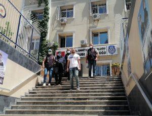 Beyoğlu'nda eski eşini silahla yaralayan şüpheli yakalandı