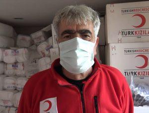 Bingöl'de Türk Kızılay aşevinde kazanlar ihtiyaç sahibi aileler için kaynıyor