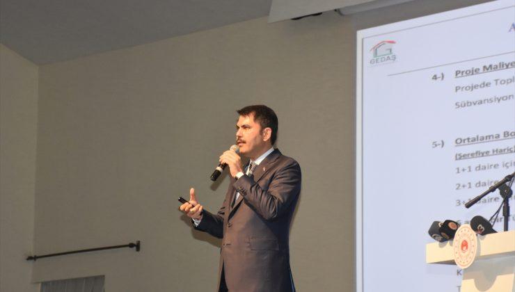 Çevre ve Şehircilik Bakanı Murat Kurum, Afyonkarahisar'da: