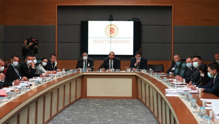 Ceza infaz kurumlarına ilişkin kanun teklifi TBMM Adalet Komisyonu'nda