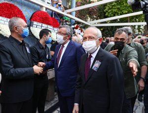 CHP İzmir Milletvekili Atila Sertel'in vefat eden eşi toprağa verildi