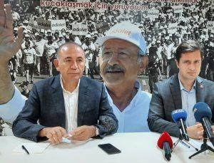 CHP Milletvekili Gürsel Tekin, İzmir'de basın toplantısı düzenledi