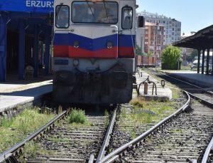 Çin'e gidecek ihracat treni Erzurum'a ulaştı