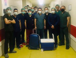 Denizli'de beyin ölümü gerçekleşen hastanın karaciğeri İzmir'deki hastaya umut oldu