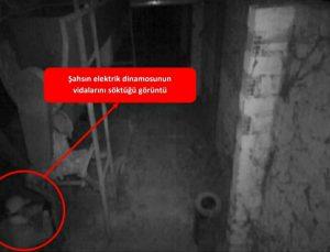 Denizli'de fabrikadan hırsızlık yaptığı iddia edilen şüpheli suçüstü yakalandı