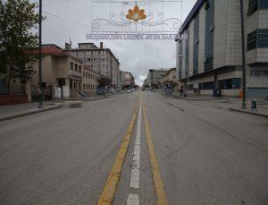 """Doğu Anadolu""""da """"tam kapanma"""" sessizliği"""