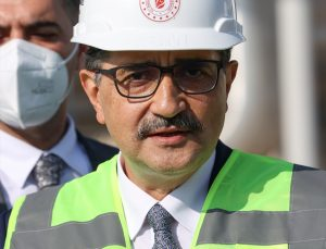 Bakan Dönmez, nüfusu 10 binin üzerindeki tüm ilçelere doğal gaz götürmeyi amaçladıklarını bildirdi: