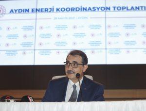 Bakan Dönmez Aydın'a 400 milyon liralık enerji ve madencilik yatırımı yapılacağını bildirdi