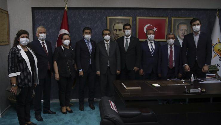 Enerji ve Tabii Kaynaklar Bakanı Dönmez'den Denizli'nin 6 ilçesine doğal gaz müjdesi: