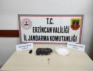 Erzincan'da uyuşturucu operasyonunda yakalanan 2 şüpheli tutuklandı