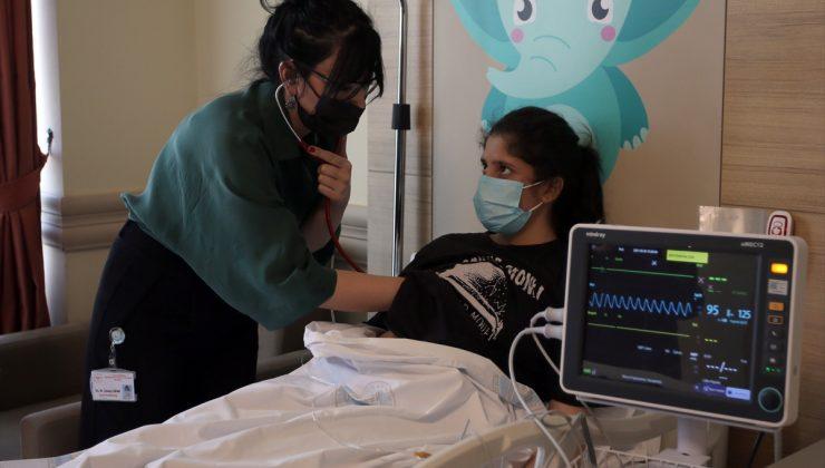Erzurum'da kalbi delik çocuklar ameliyatsız yöntemle tedavi edildi
