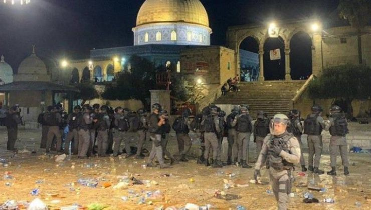 İsrail polisinin Doğu Kudüs'te Filistinlilere yönelik saldırılarında yaralı sayısı 178'e yükseldi