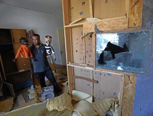 """Gazze'de İsrail saldırılarından sanat da """"nasibini aldı"""""""