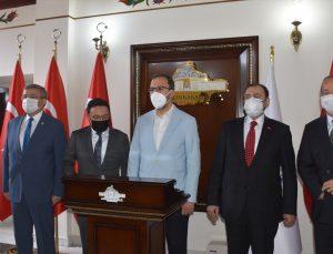 Gençlik ve Spor Bakanı Mehmet Muharrem Kasapoğlu, Afyonkarahisar Valiliğini ziyaret etti