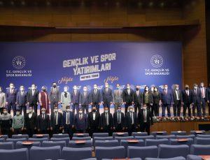 Gençlik ve Spor Bakanlığından Niğde'ye gençlik ve spor yatırımı