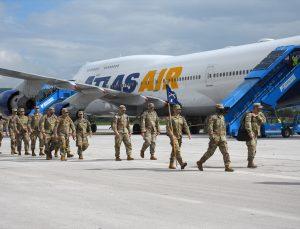 """""""Hızlı Cevap 2021"""" tatbikatına katılmak üzere 700 ABD askeri Bosna Hersek'e geldi"""