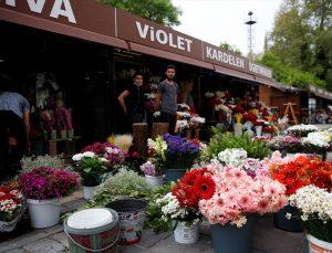 İç Anadolu'daki çiçekçilerde Anneler Günü yoğunluğu