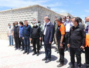 """İçişleri Bakanı Süleyman Soylu: """"1 yılda burada (İdlib'de) 35 bin ev nihayete erdirilmiştir"""""""