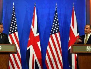 """İngiltere ve ABD, Rusya ve Çin'e karşı """"uluslararası düzeni"""" koruma çağrısı yaptı"""