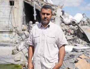 İsrail'in Gazze saldırılarında tek geçim kaynağı balıkçılık olan Filistinlinin balık çiftliği yerle bir oldu