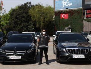 İstanbul merkezli 9 ilde yapılan operasyonda 24 lüks otomobile el konuldu